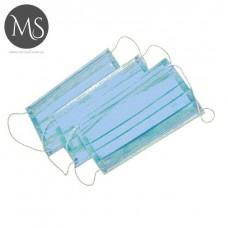 Маска одноразовая трехслойная из спанбонда 50 шт.