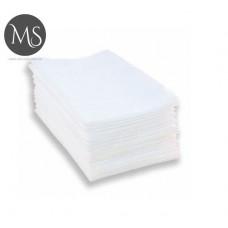 Полотенца 50 см х 80 см 40г/м2 (100 шт) в пластах гладкие