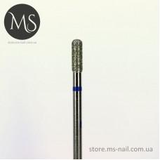 Фреза алмазная БОЧОНОК 2,5 мм синий маркер