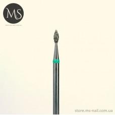 ПОЧКА алмазная насадка 1.8 мм. зеленая