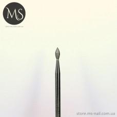 ПОЧКА алмазная насадка 2.1 мм. красная