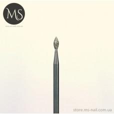 ПОЧКА алмазная насадка синяя 2.1 мм.