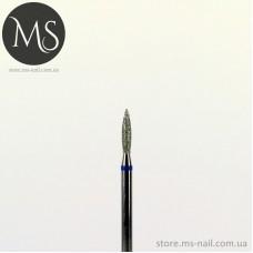 Фреза алмазная ПЛАМЯ 1.8 мм синяя