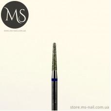 КОНУСНАЯ алмазная насадка 2.1 мм. синий