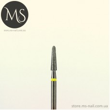 ГРИБОВИДНАЯ алмазная насадка желтая 2.5 мм.