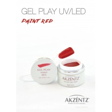 UV/LED GEL PLAY 004 PAINT RED