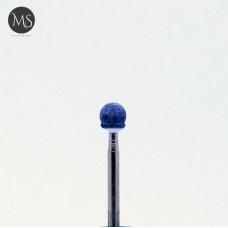 Фреза корундовая шар 5.0 мм синий
