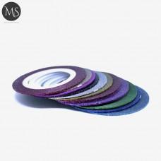 Набор из 12 цветных лент