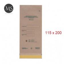 Крафт пакеты для стерилизации упаковка 100 штук 115 на 200