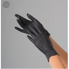 Перчатки нитриловые Polix PRO&MED (100 шт/уп.) цвет - черный