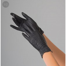 Перчатки нитриловые Polix PRO&MED (100 шт.)  Extra Safe - черные