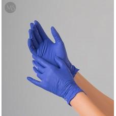 Перчатки нитриловые Polix PRO&MED (100 шт/уп.) цвет - purple blue