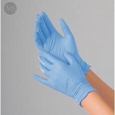 Перчатки нитриловые Polix PRO&MED (100 шт/уп.) цвет - sky blue