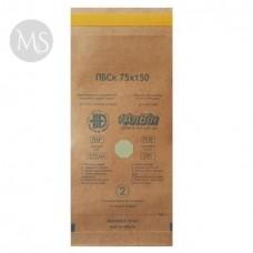 Крафт пакеты для стерилизации упаковка 100 штук 75х150 АлВин